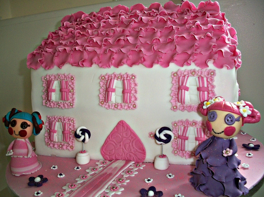 Lala Loopsy Cake  on Cake Central