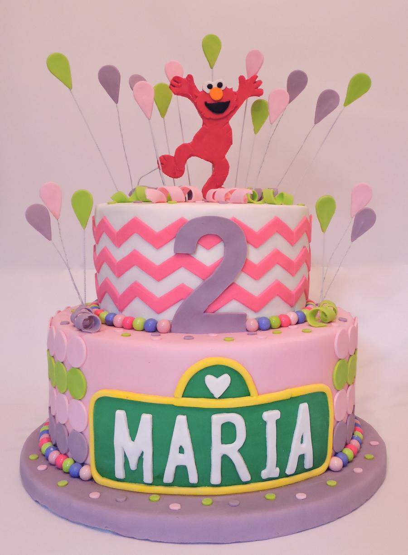 Incredible Elmo Birthday Cake Cakecentral Com Funny Birthday Cards Online Sheoxdamsfinfo