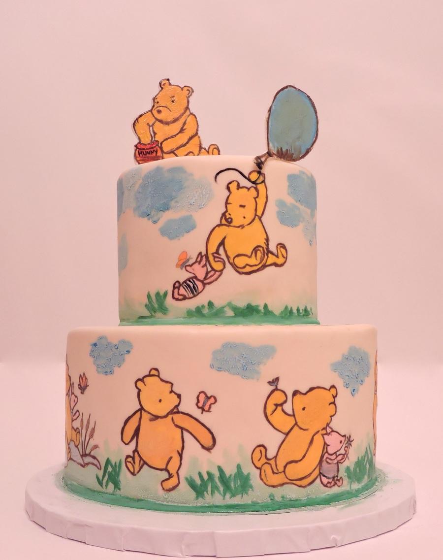 Classic Pooh Cake Decorations