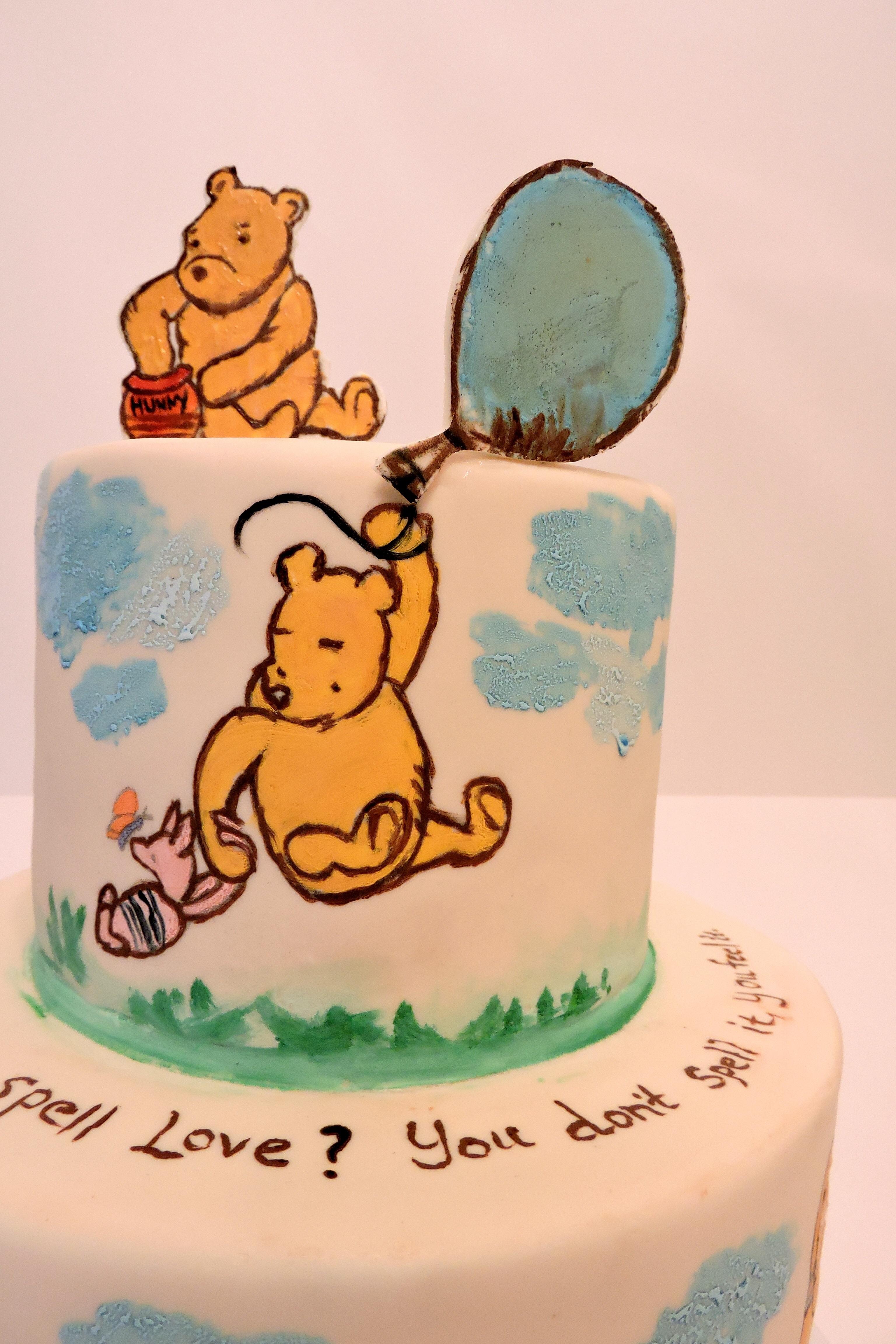 classic winnie the pooh cake cakecentralcom