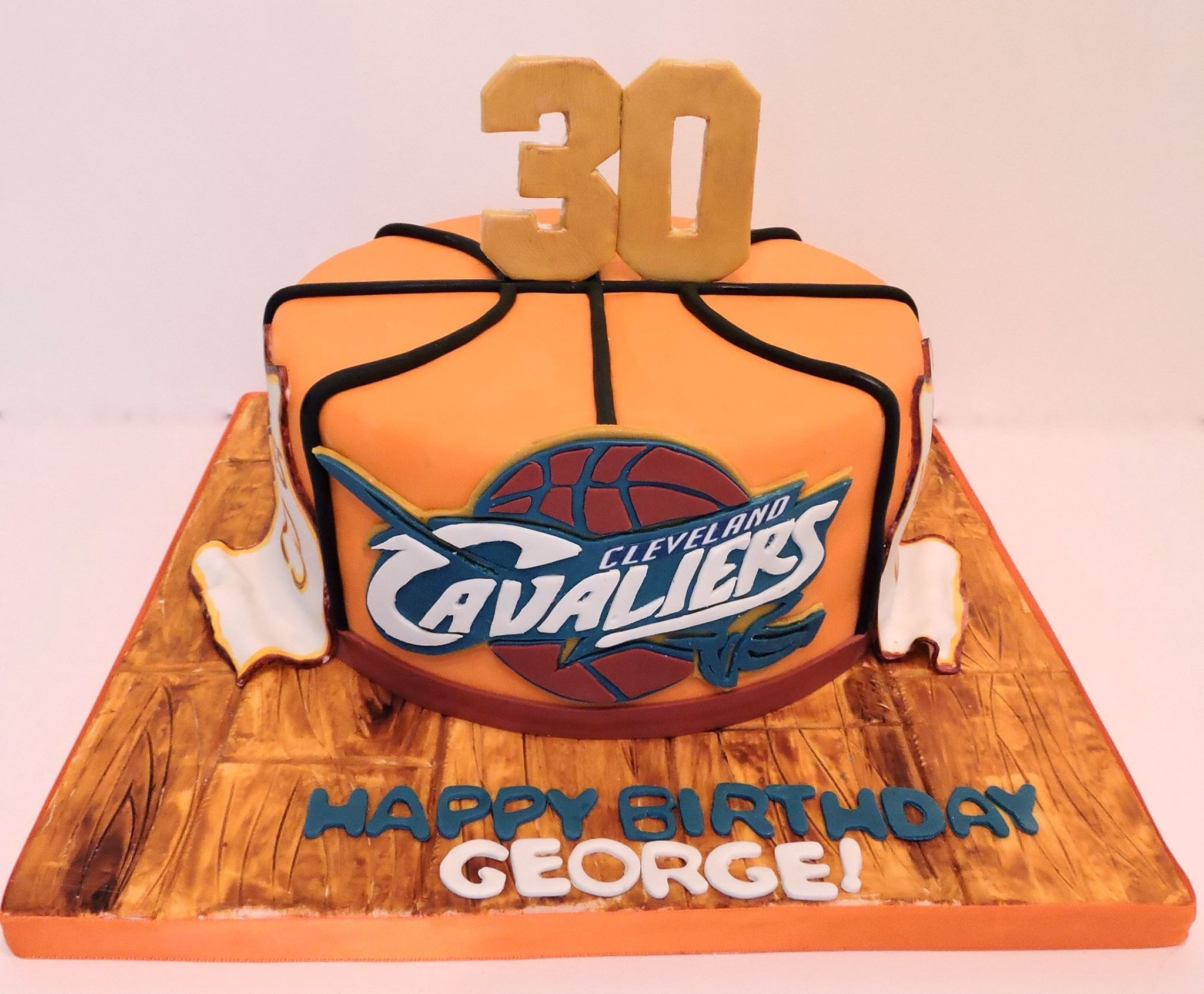 Cleveland Cavaliers Birthday Cake