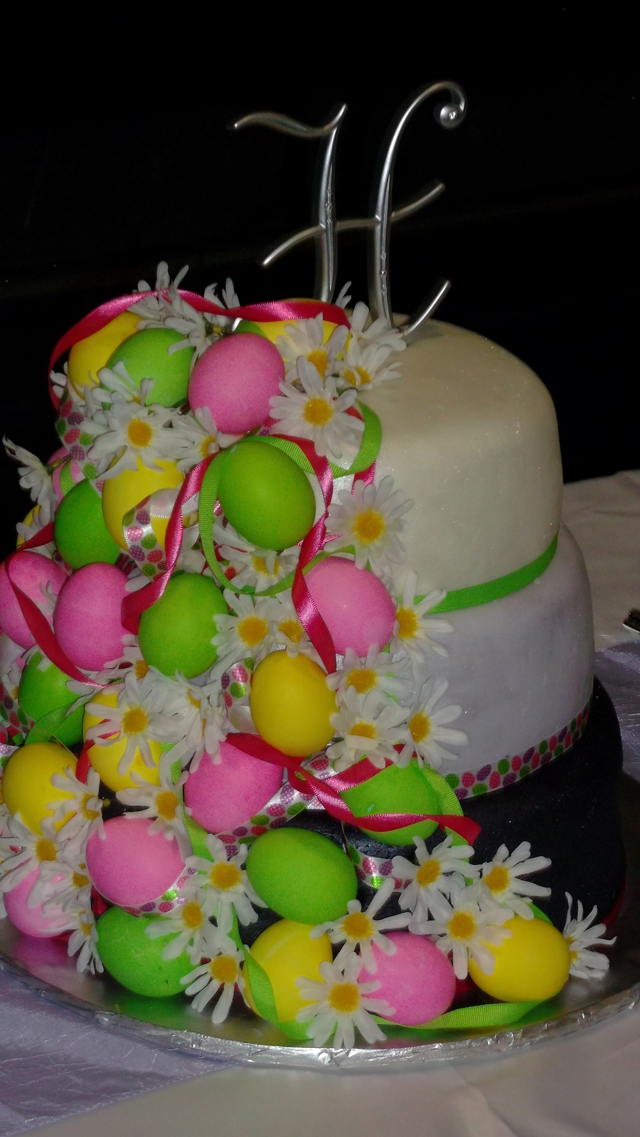creme egg wedding cake easter themed wedding cake chocolate cake with raspberry 13090