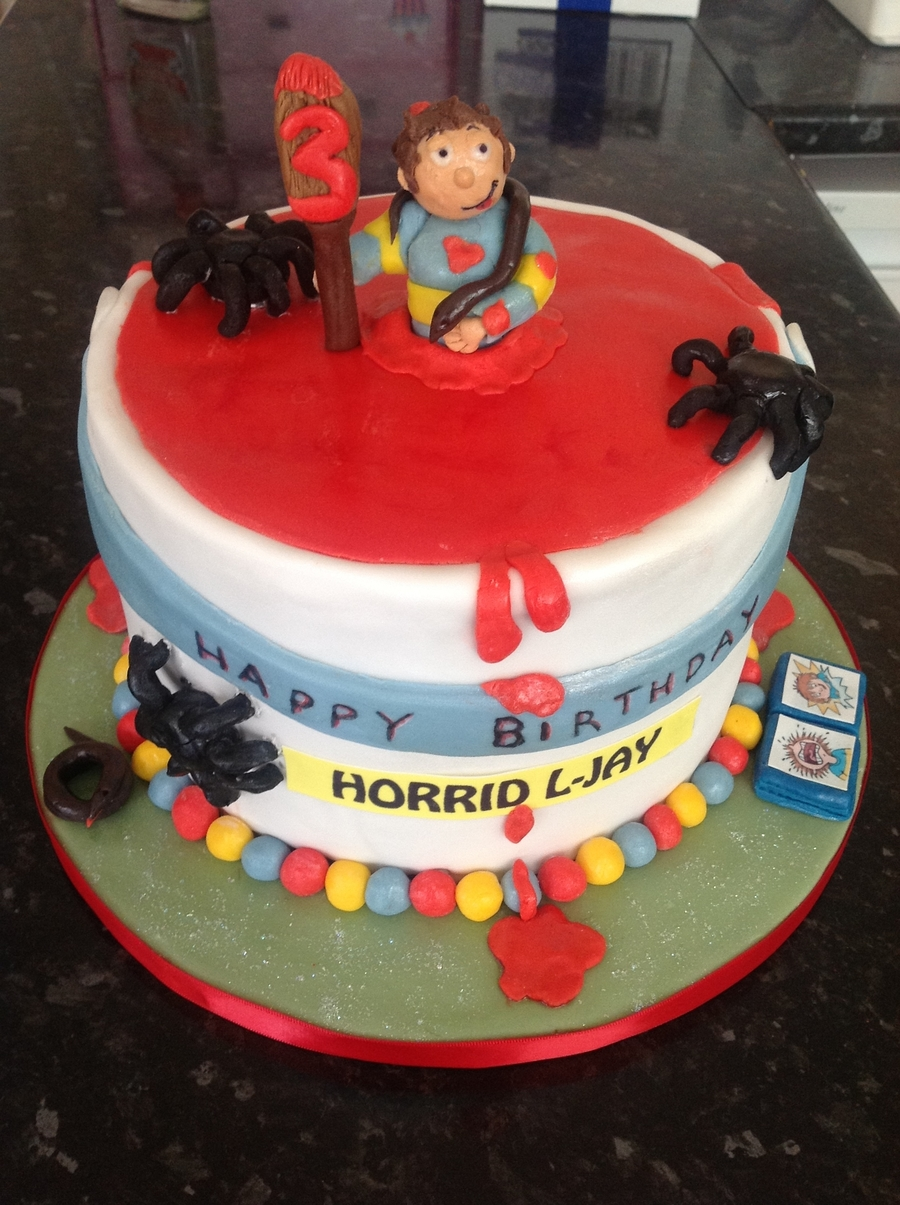 Horrid Henry on Cake Central