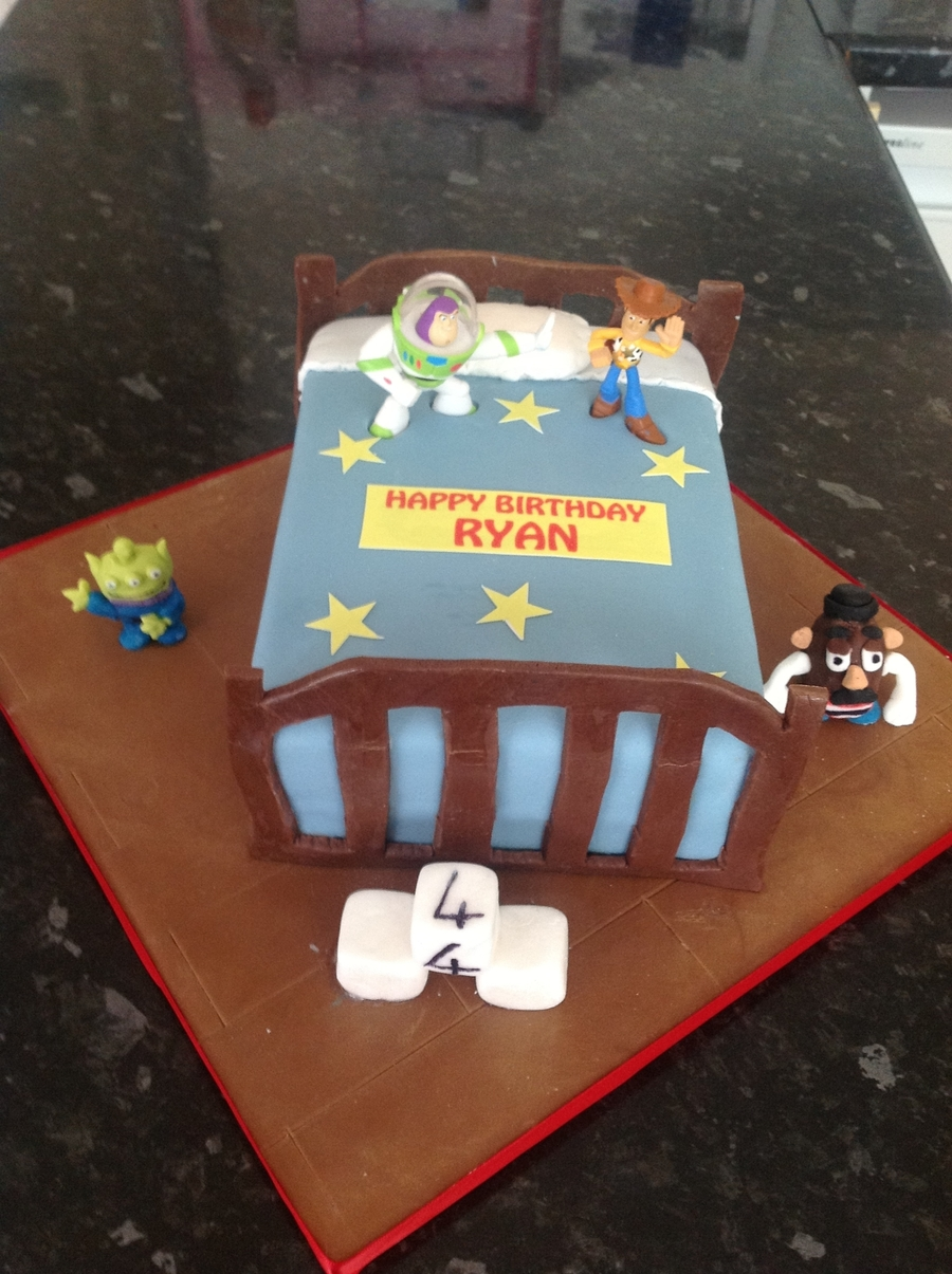 Toy Story Bed Cake on Cake Central