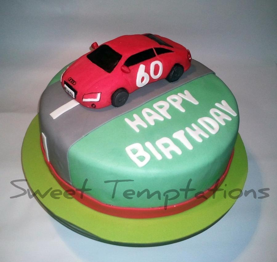 Audi Car Cake CakeCentralcom