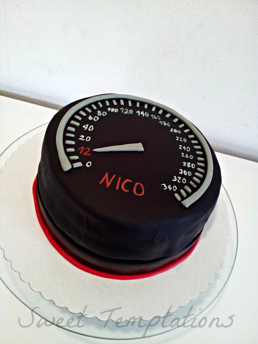 Speedometer Cake Cakecentral Com