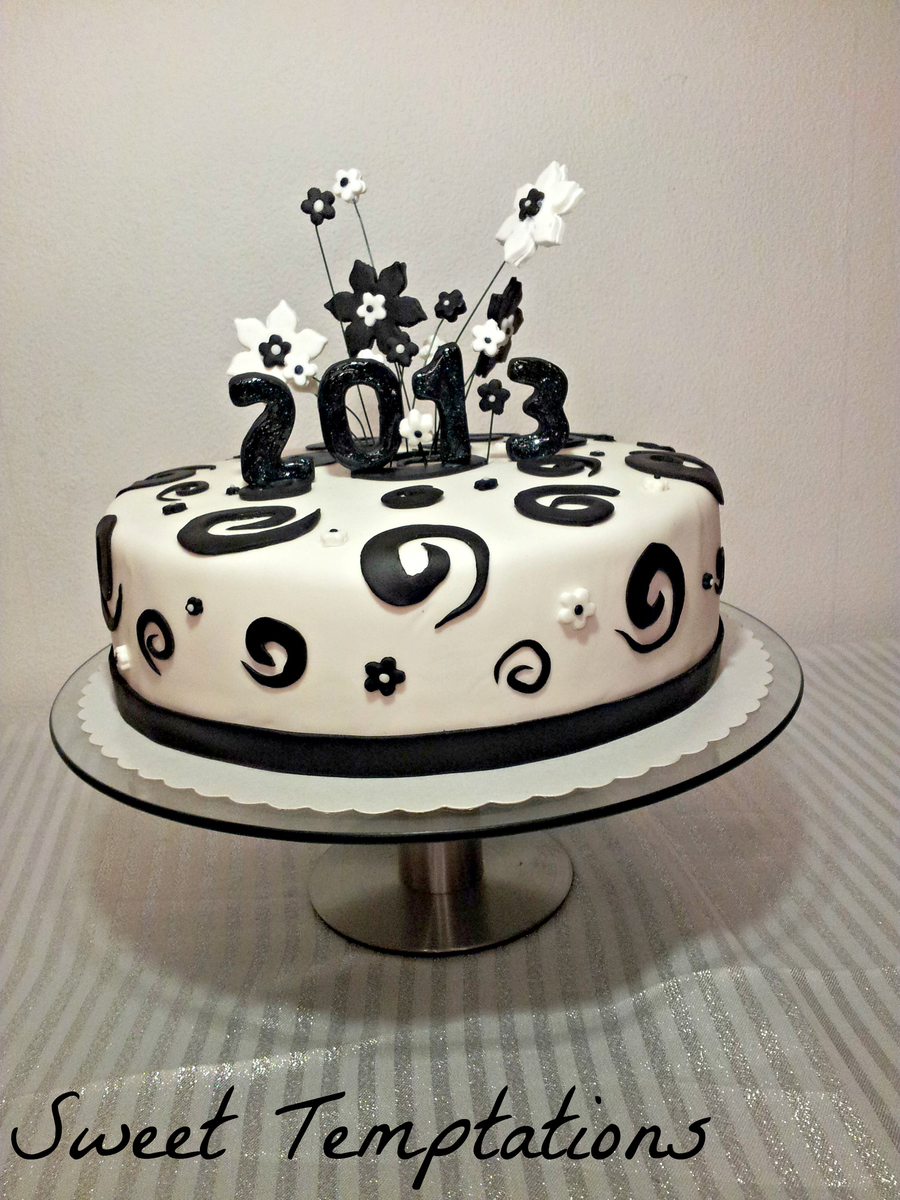 Happy New Year`s Cake - CakeCentral.com