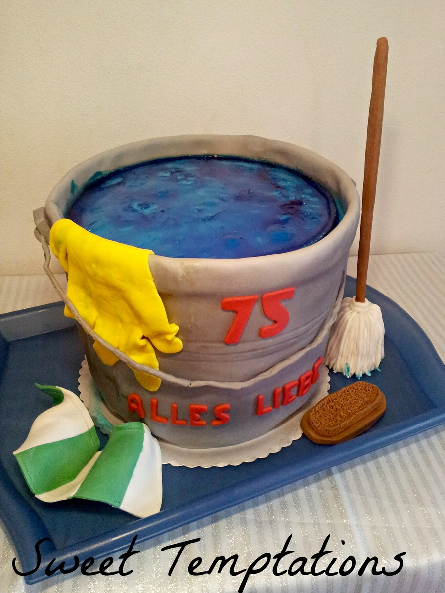 how to clean tempera cakes