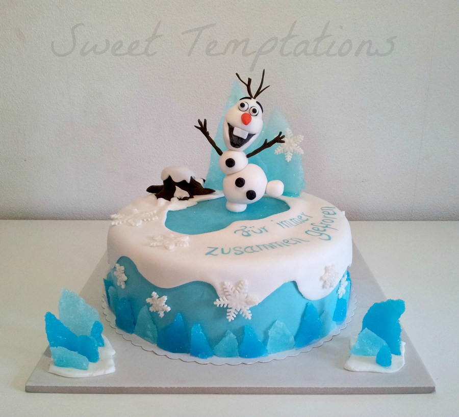 Disney Frozen Birthday Cake Decorations