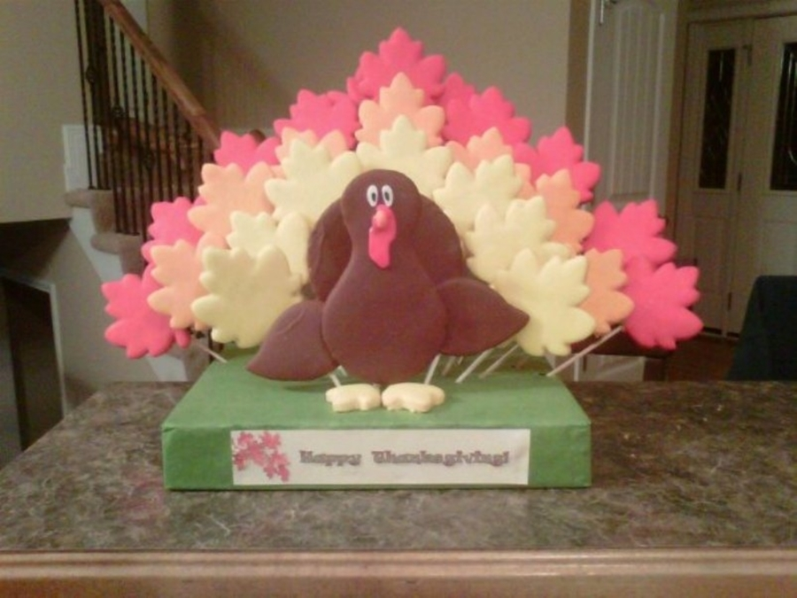 Turkey Cookie Bouquet on Cake Central