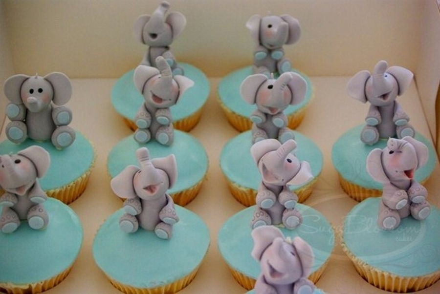 Edible Elephant Cake Decorations