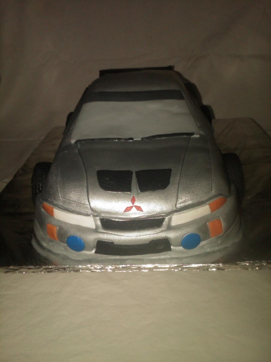 Mitsubishi Evolution Cake Cakecentral Com