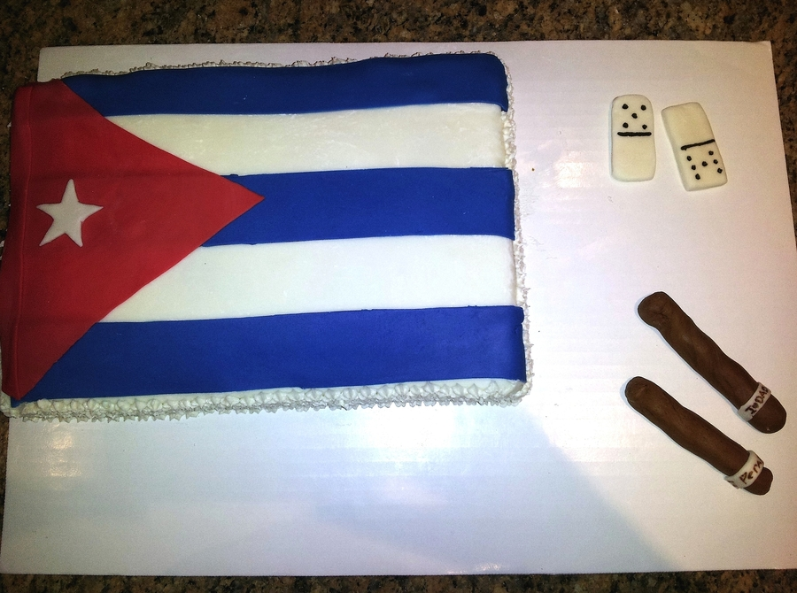 Birthday Cake For My Proud Cuban Dad Cakecentral