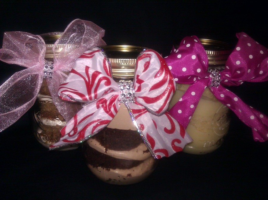 Bday Xmas Bbyshowers Ect Cake Jars on Cake Central