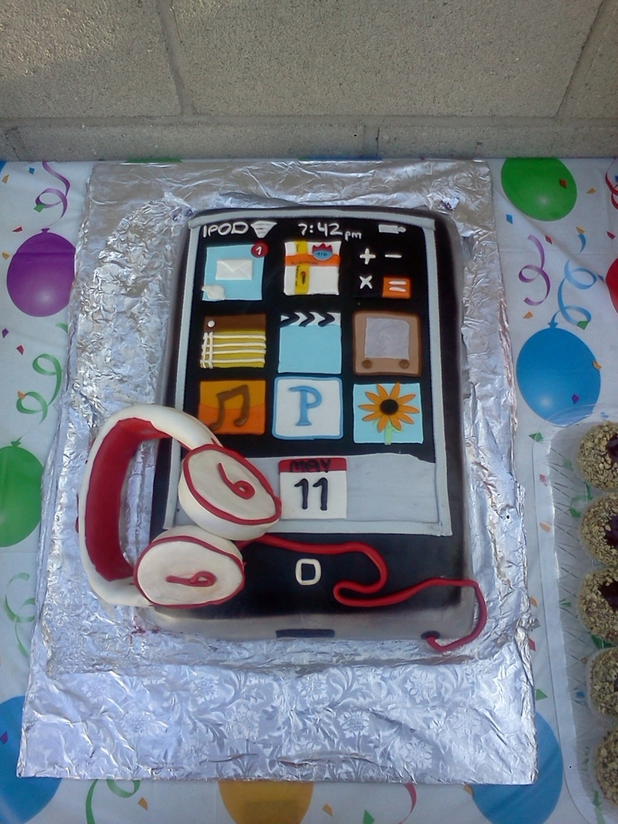 Ipod on Cake Central