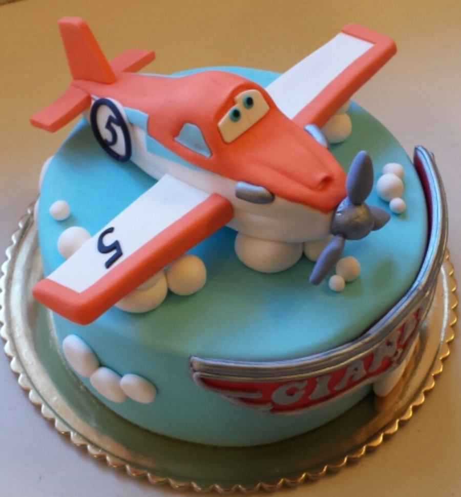 Disney Dusty Plane Cake