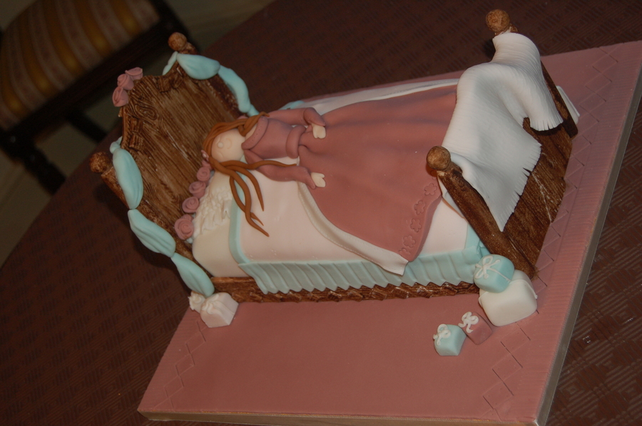 Girl Sleeping A Cake For A Teenage Birthday on Cake Central