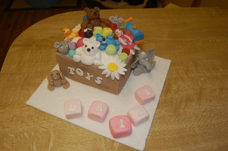 Toy Box  on Cake Central