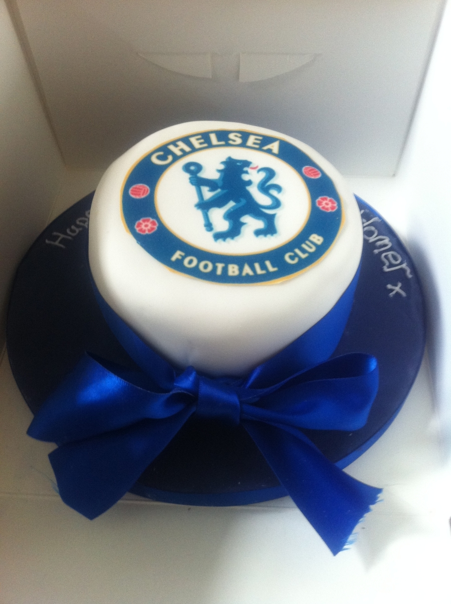 "5"" Fathers Day Chelsea Cake on Cake Central"