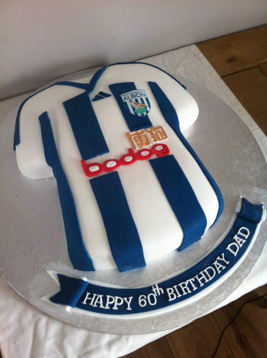 West Bromwich Albion 11/12 Shirt X on Cake Central
