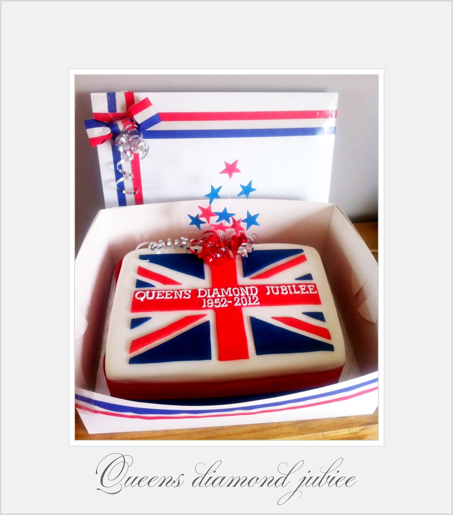 Queens Diamond Jubilee Cake on Cake Central