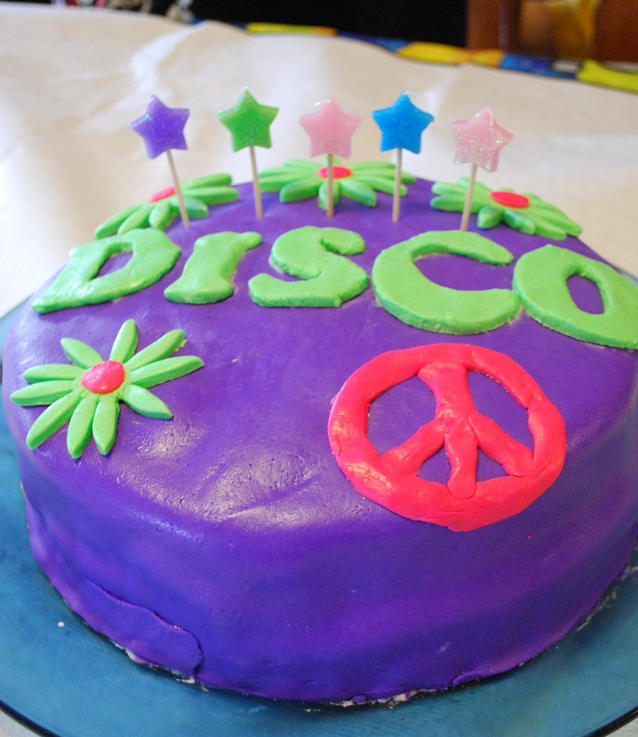 Disco Cake. on Cake Central