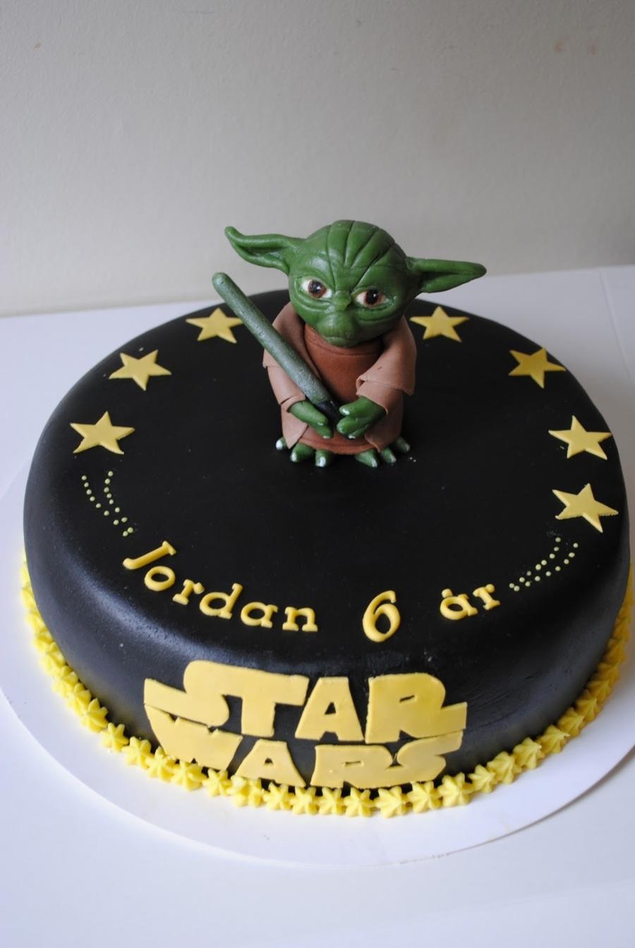 Yoda Birthday Cake Golfclub