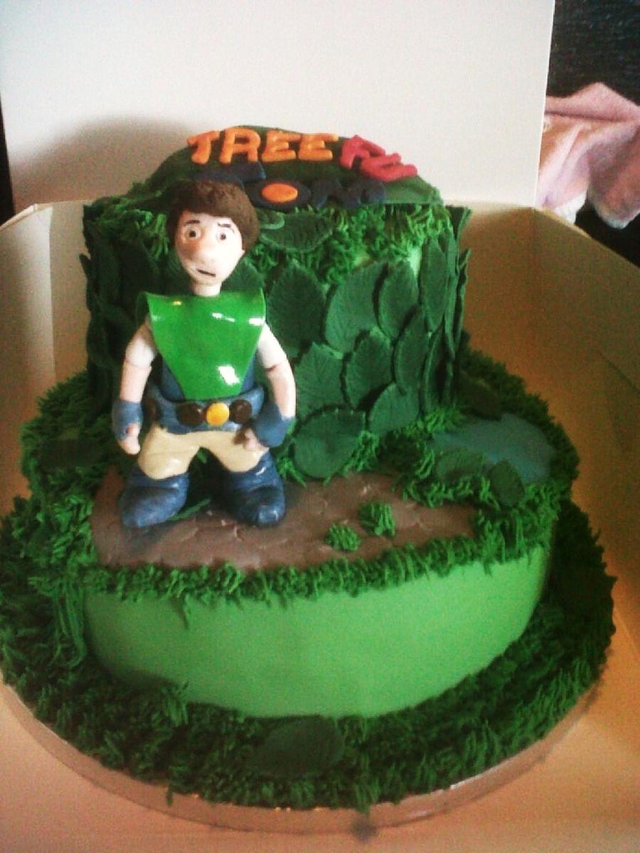 Tree Fu Tom Cakecentral