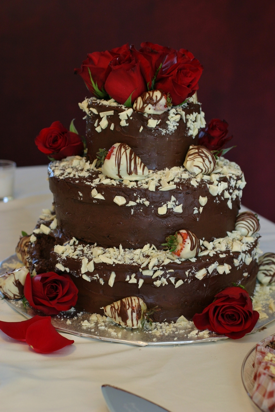 Chocolate Strawberry Groom's Cake on Cake Central