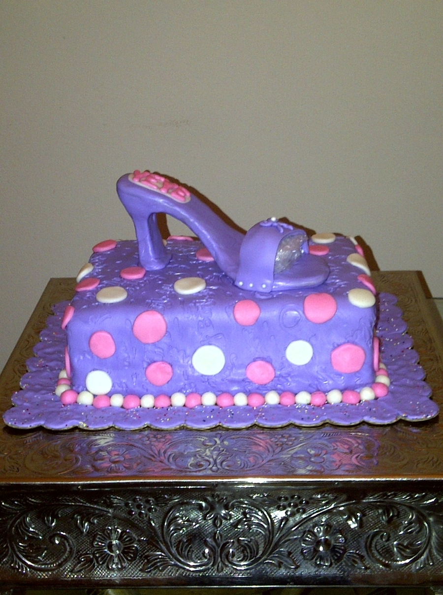 Shoe Cake on Cake Central