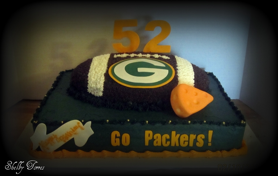 Green Bay Cake on Cake Central