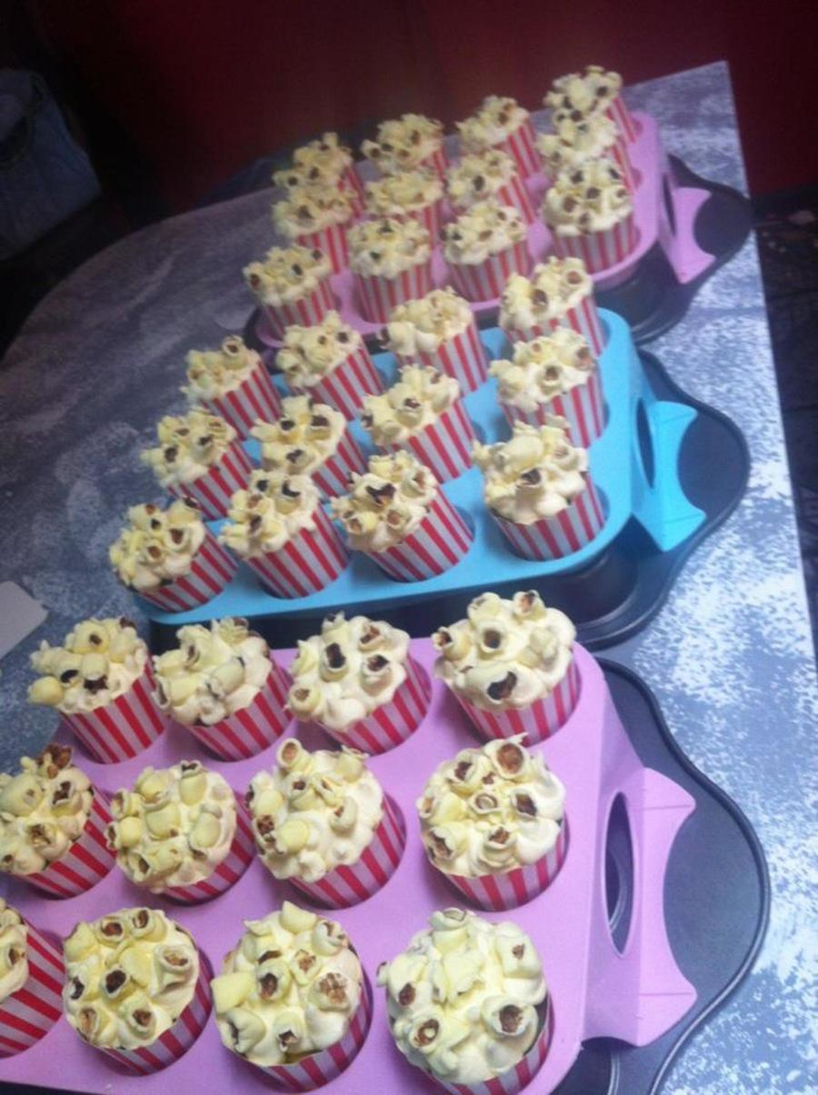 Popcorn Cupcakes  on Cake Central
