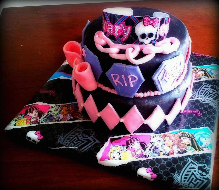 Monster High Birthday Cake on Cake Central
