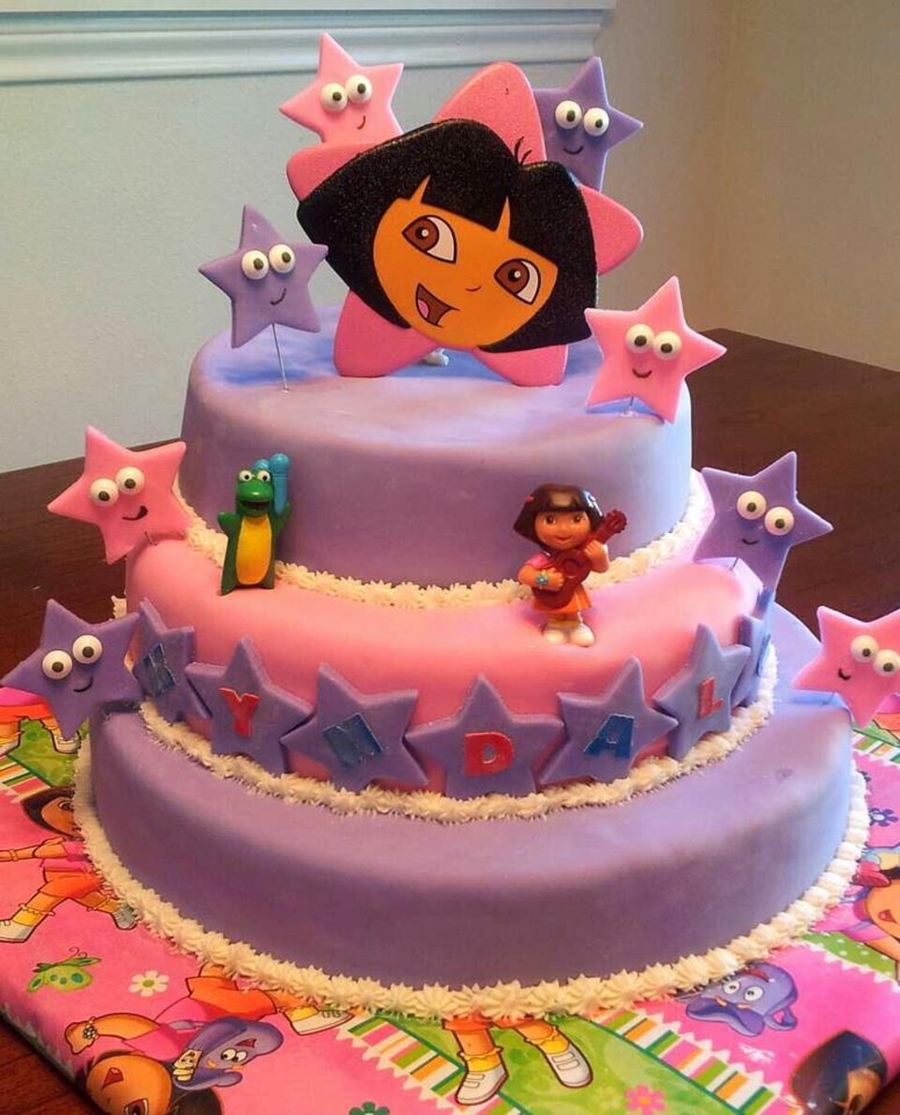 Homemade Dora Cake Ideas
