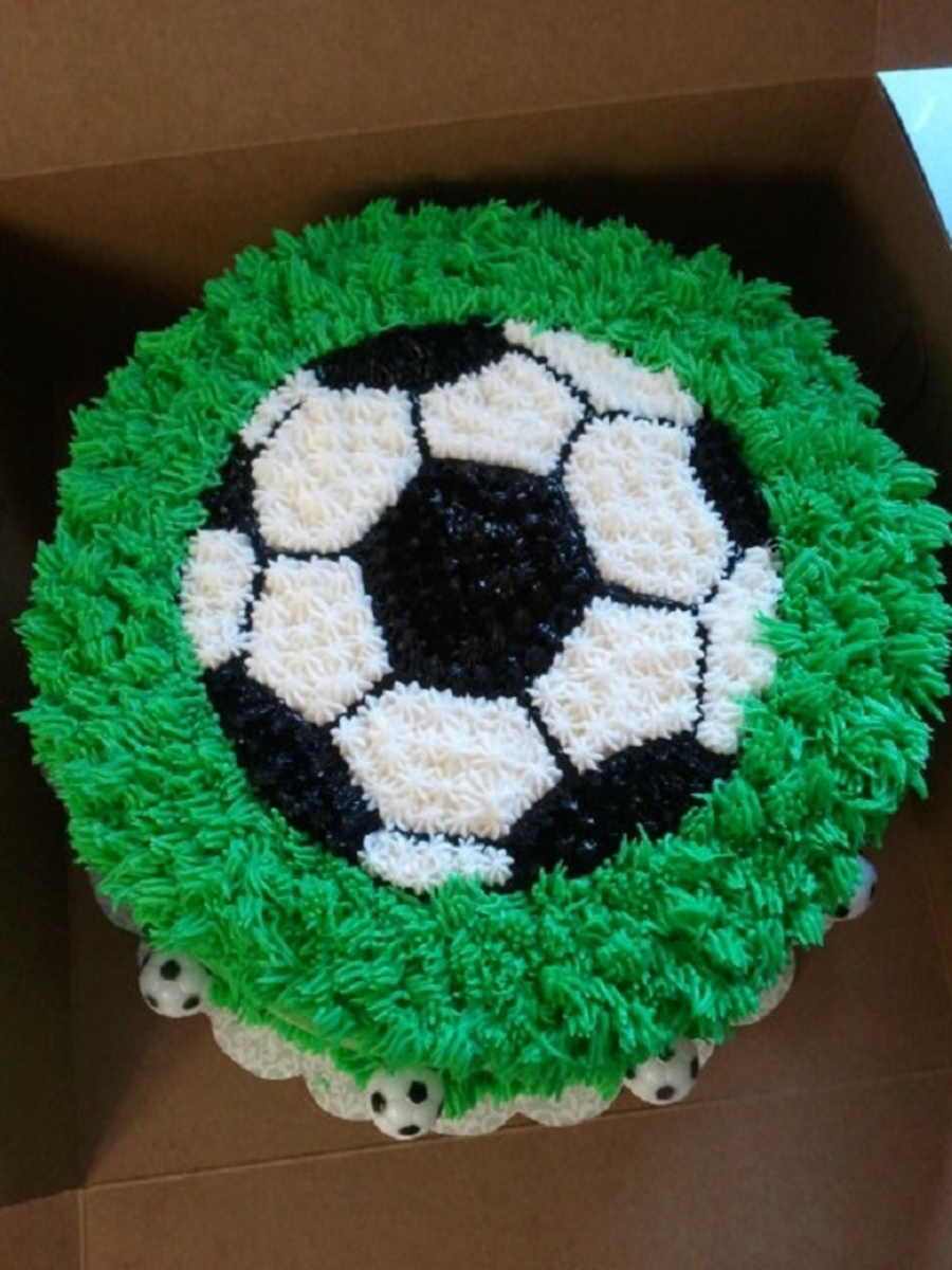 Soccer Ball Cake Decorating Ideas