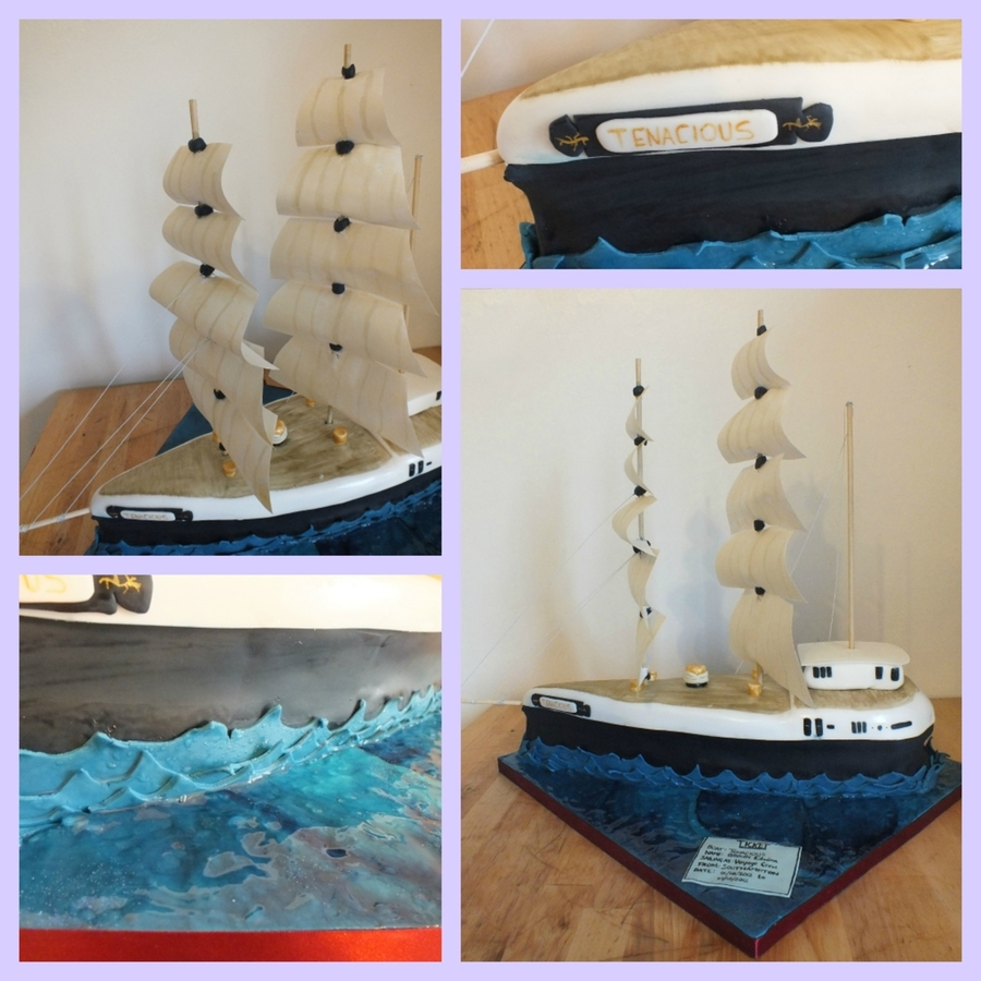 Tall Ship Cake on Cake Central