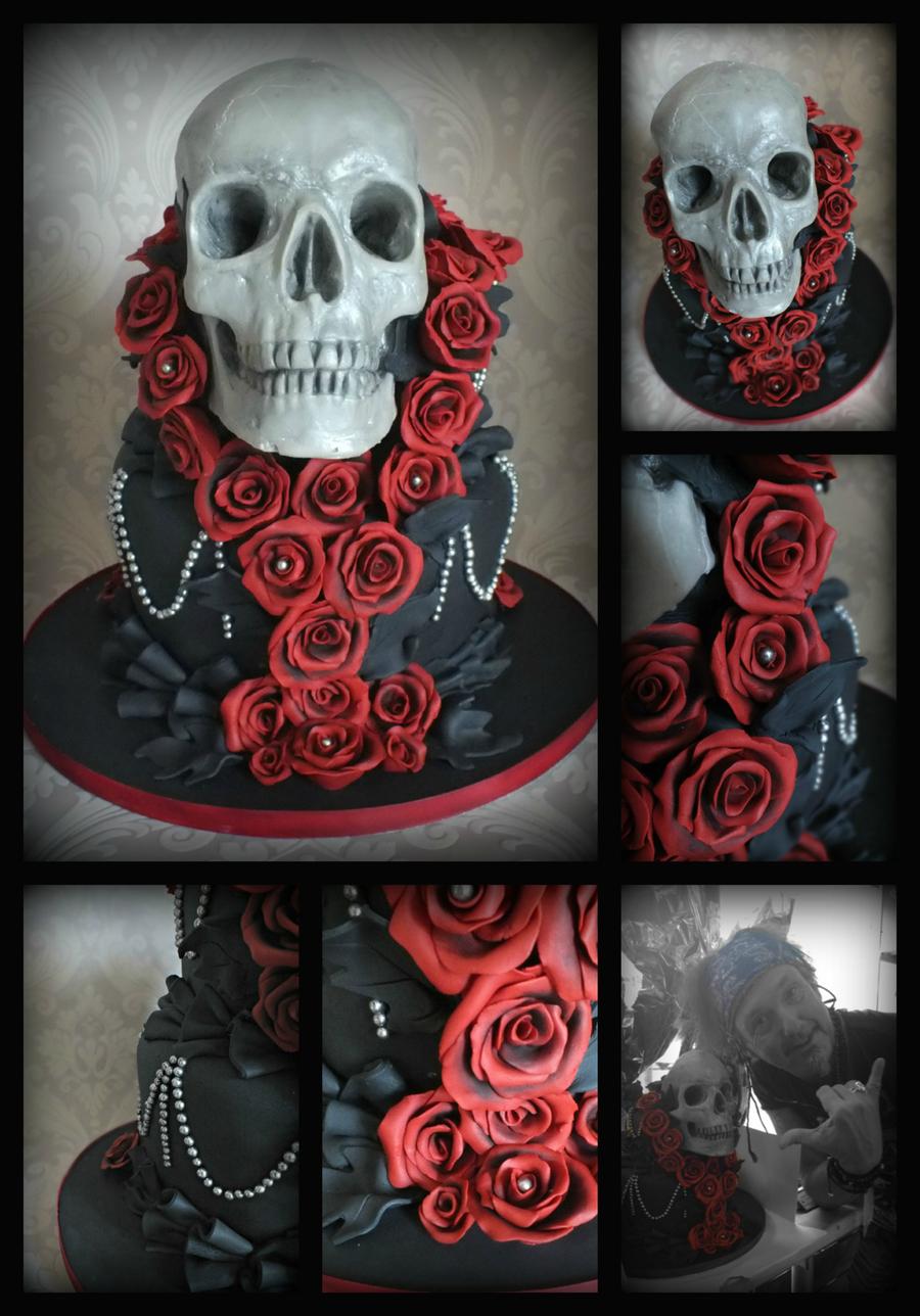 Skull Cake - CakeCentral.com