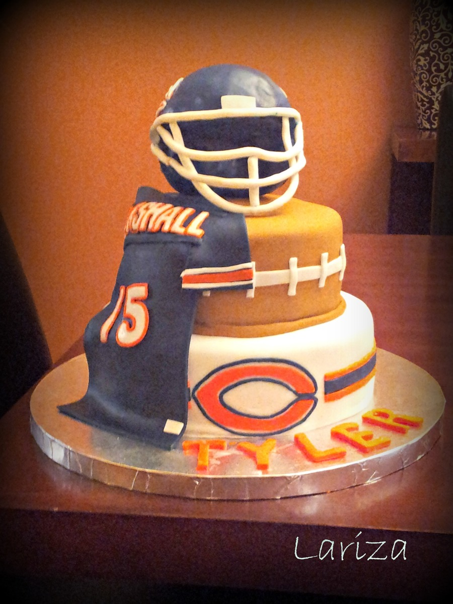Chicago Bears Cake on Cake Central
