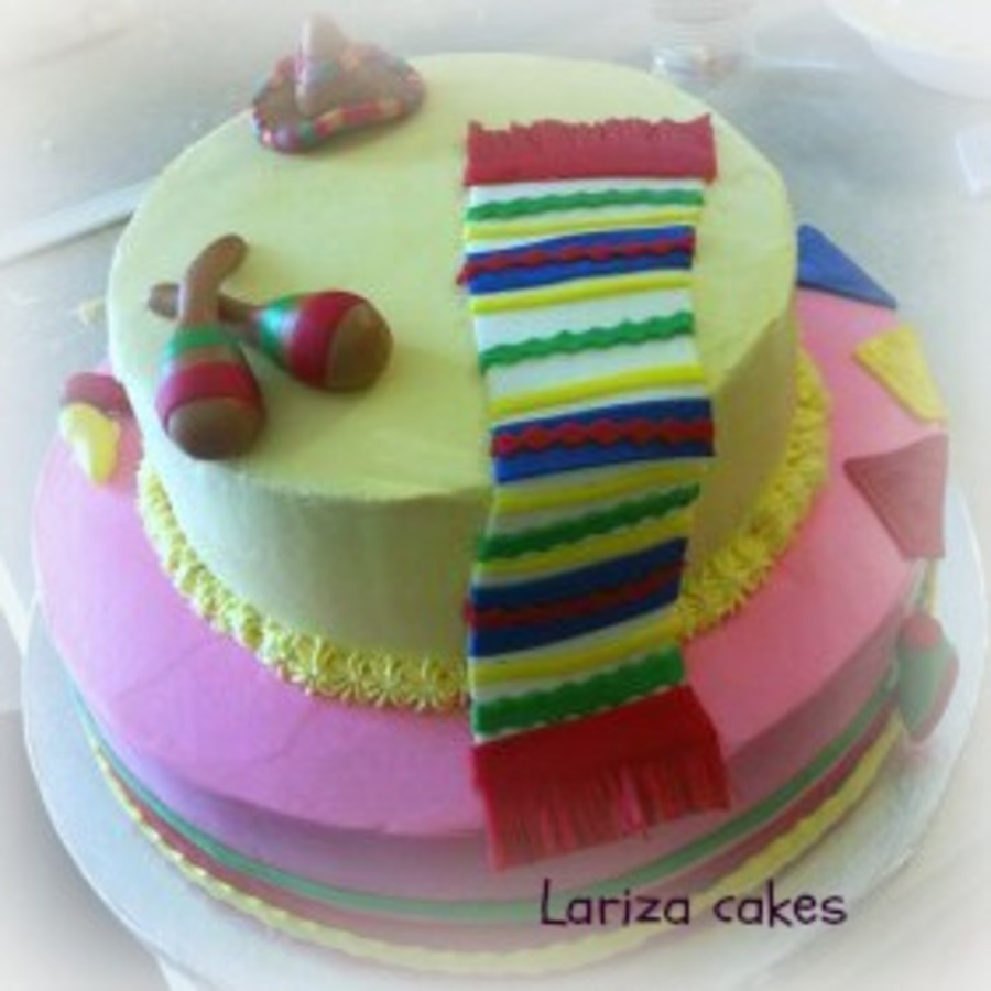 Fiesta Mexicana Cake on Cake Central