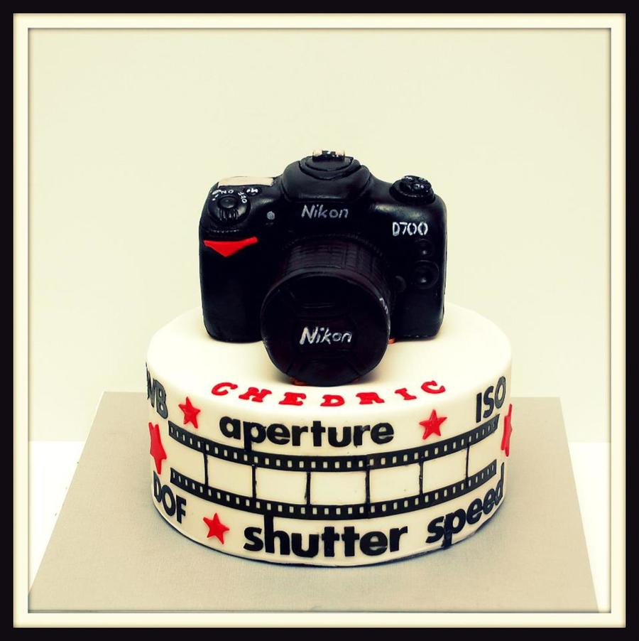 Canon Birthday Cake