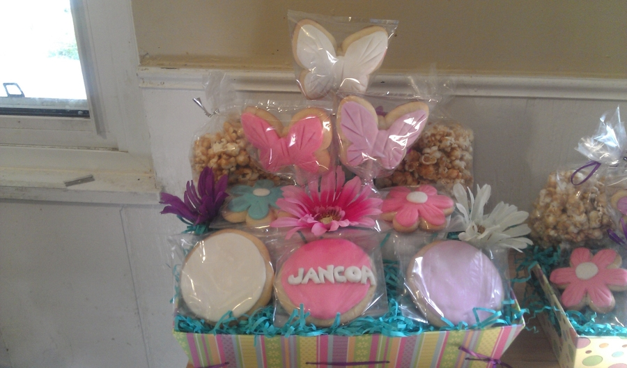 Cookie Basket on Cake Central