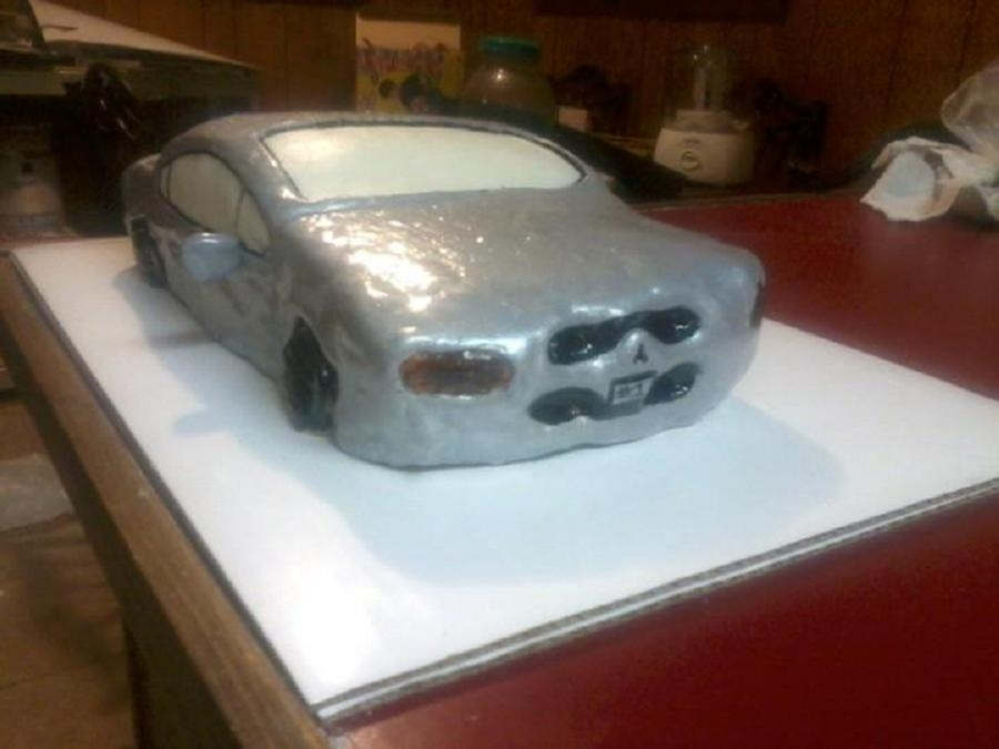 First Car Cake Disaster on Cake Central