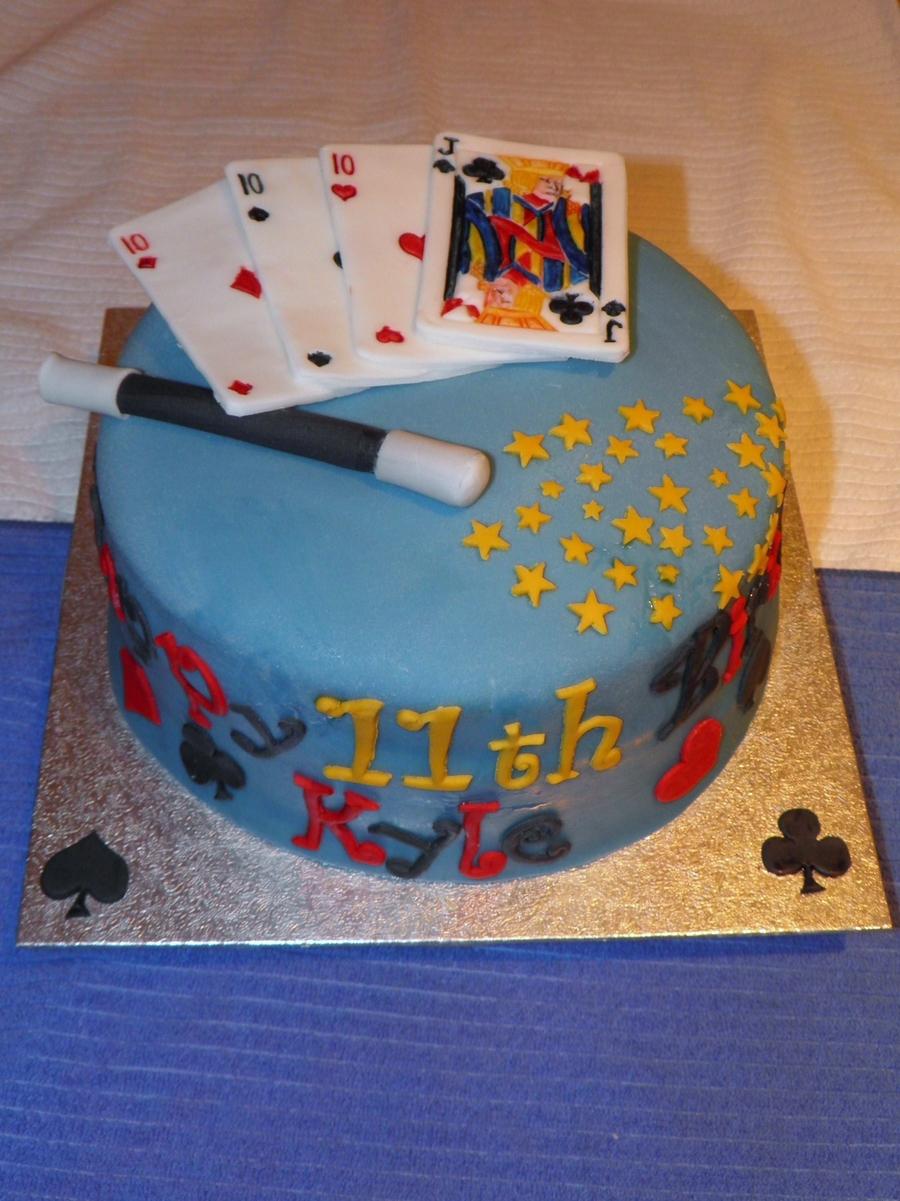 Awesome Magic Birthday Cake Cakecentral Com Funny Birthday Cards Online Kookostrdamsfinfo