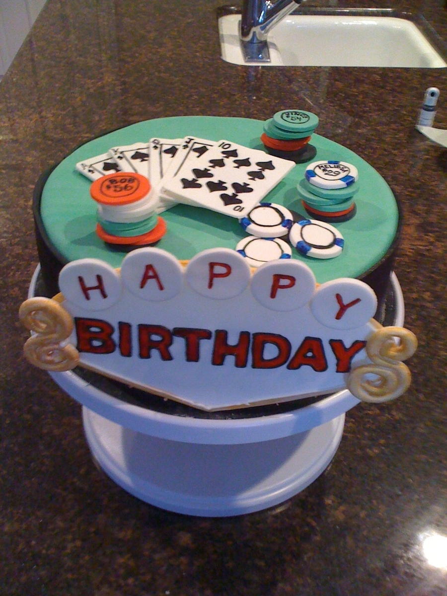 Casino Cake on Cake Central