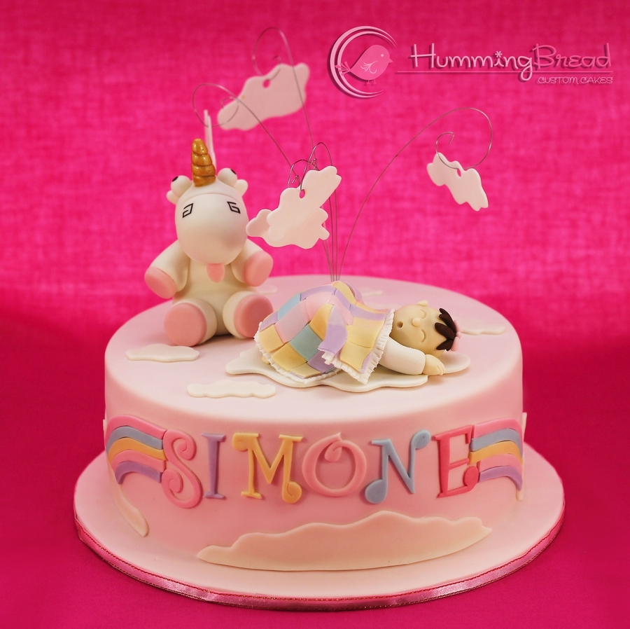Simone's Christening on Cake Central
