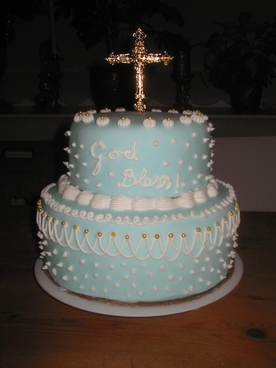 Sky Blue Cake Images : Sky Blue Wedding Cake - CakeCentral.com