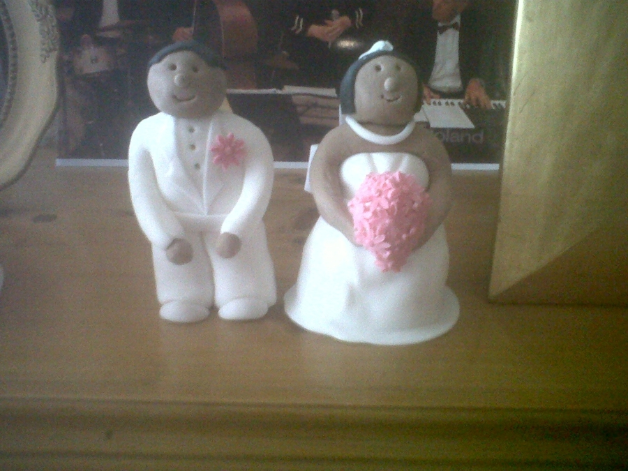Wedding Couple  on Cake Central