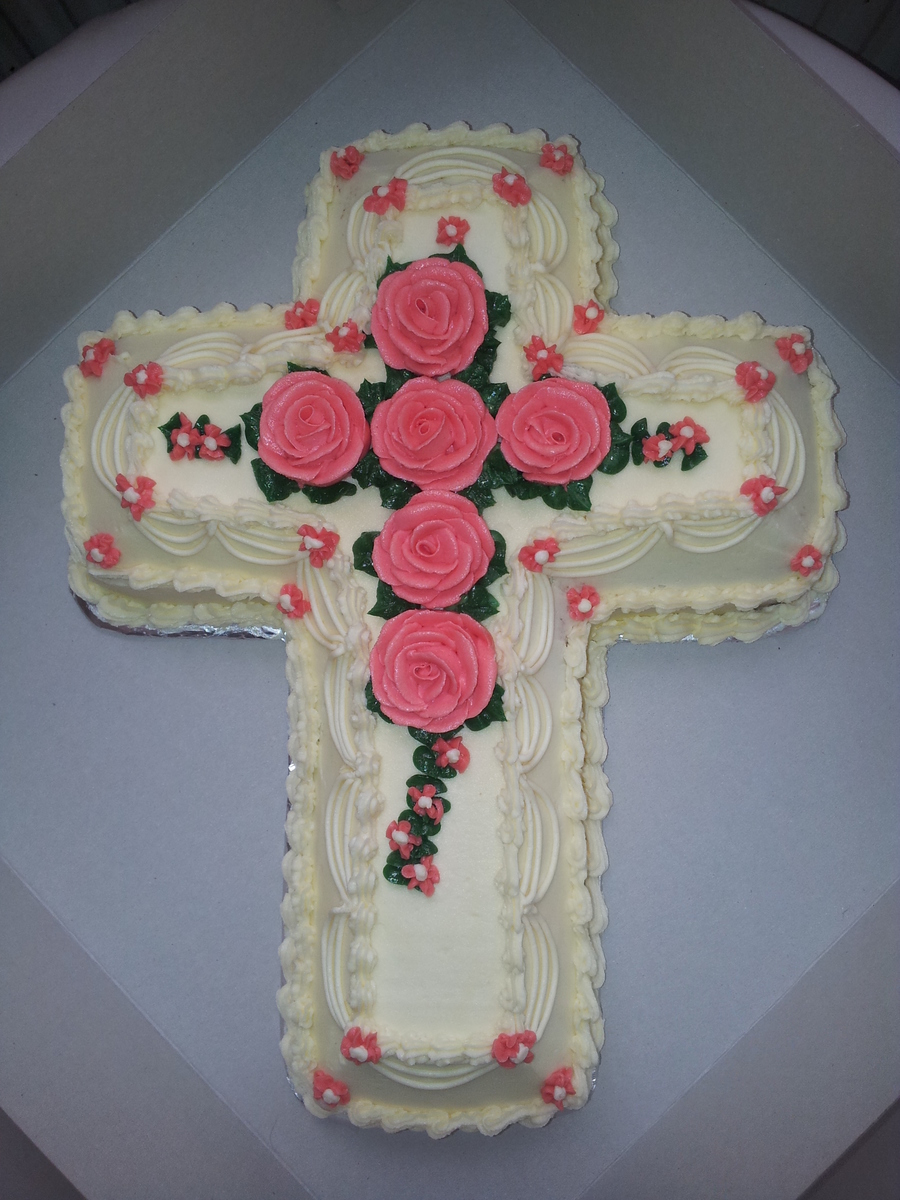 Cross on Cake Central