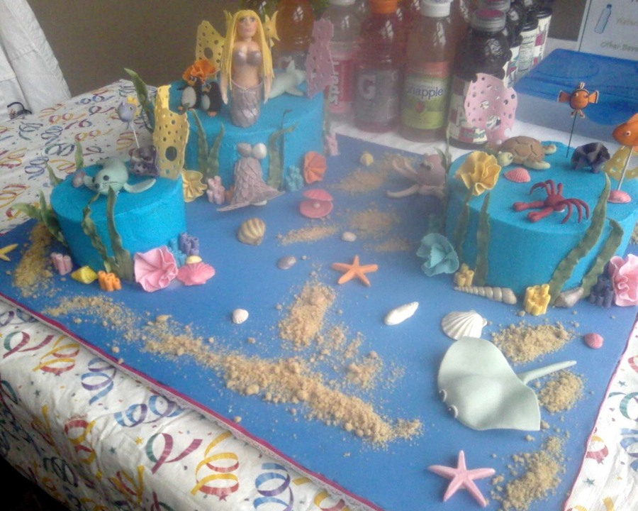 Under The Sea Birthday Cake  on Cake Central