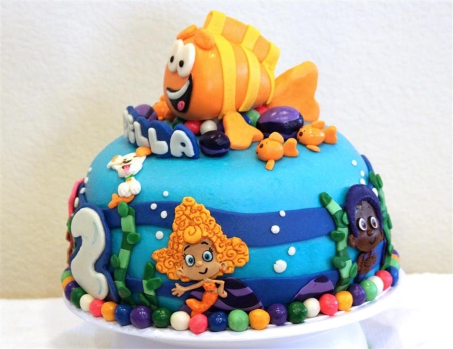 Bubble Guppies Cake on Cake Central